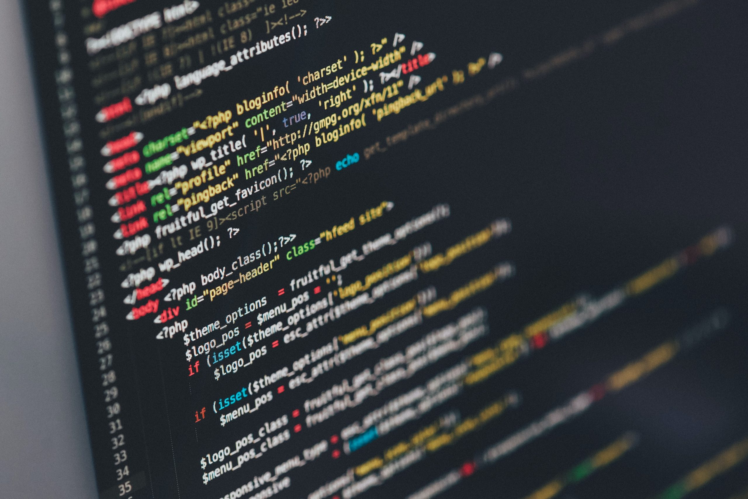 Webpage coding